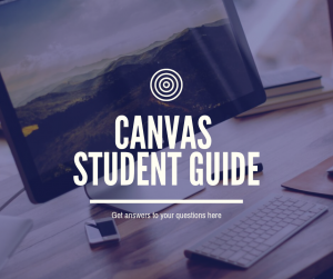 Canvas Student Guide