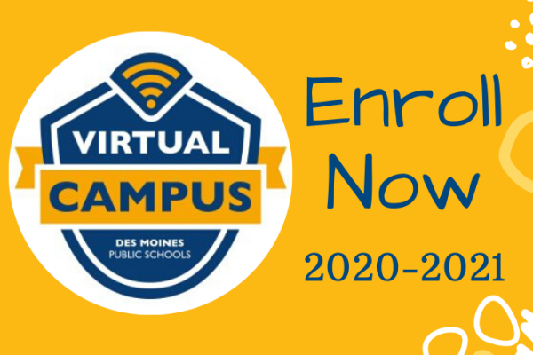 Enroll now for the 2020-2021 school year!