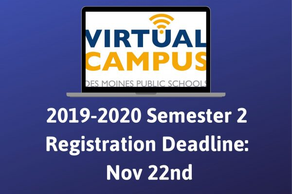19-20 Semester 2 enrollment closes soon!