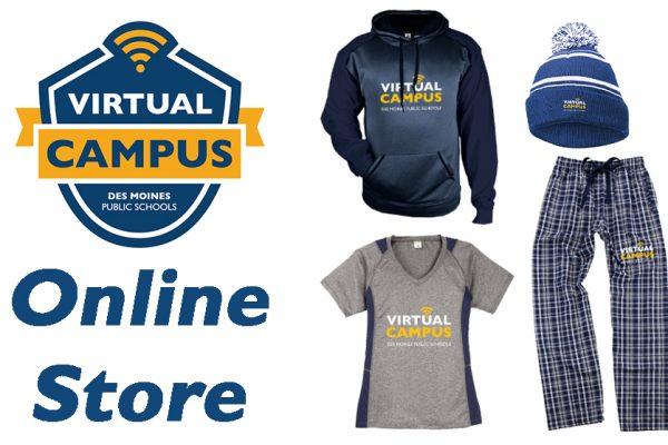 Des Moines Virtual Campus launched an online store