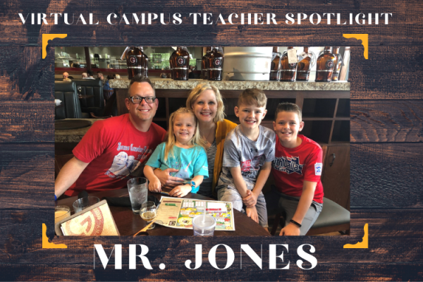 Teacher Spotlight: Mr. Jones